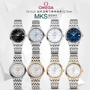 MKS厂欧米茄女款碟飞系列424.10.33.20.05.001腕表